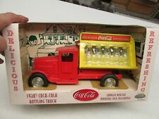 GEARBOX COCA-COLA TRUCK WITH GLASS BOTTLES MINT IN THE BOX