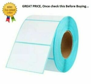 """Self Adhesive Sticky Labels 100mm x 150mm 4"""" x 6"""" Address Labels Thermal White"""