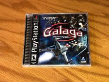 Galaga Playstation 1 PS1 Complete CIB Authentic