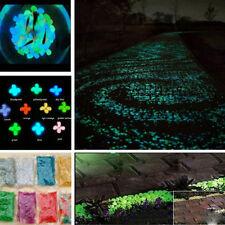 100Ps Glow in The Dark Stones pebbles Rock For Fish Tank Aquarium Garden Walkway