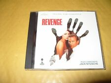 Revenge Soundtrack Original cd 12  Track cd 1990 cd Ex / Booklet Vg