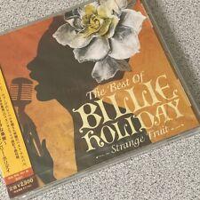 The Best Of Billie Vacances Strange' Fruit' Japonais Import CD Scellé avec Obi