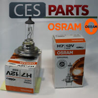 2x OSRAM 12V H7 55W ORIGINAL HALOGEN HEADLIGHTS LOW BEAM AUDI A3 8P 2003-2008