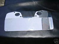 Triumph Spitfire MG Midget SU Carb Heatshield For 1500cc cars, made in STAINLESS