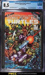 1986 Mirage Studios Teenage Mutant Ninja Turtles #7 CGC 8.5