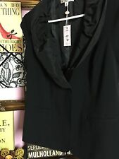 NWT - CAbi 917 Dinner Vest - Size 8 - Fall '12 - Solid Black