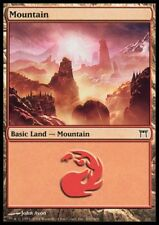 MTG 1x MOUNTAIN / GEBIRGE - Champions of Kamigawa *Nr. 300 FOIL NM*