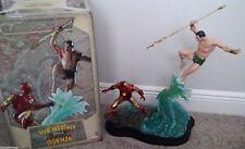 Prince Namor Sub Mariner vs Iron Man Sideshow Statue