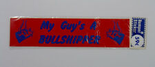 Vintage Bumper Sticker Decal trucker funny humor 60s 70s nos camper car gift 80s
