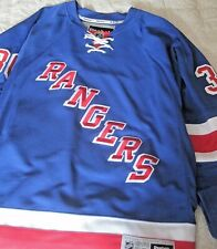 RANGERS Reebok Official  LUNDQVIST #30 Hockey Jersey - new -L NHL- 50% off