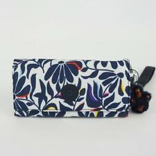 Kipling Ac8152 Rubi Snap Long Wallet Wristlet Nylon Floral Flourish Multi 48