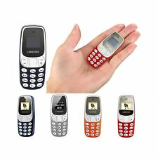 MINI CELLULARE TELEFONO TASCABILE BM 10 DUAL SIM GSM LETTORE MP3 BLUETOOTH SIR