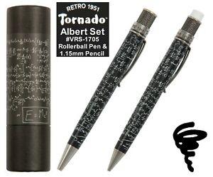 Retro 51 Albert Vintage Metalsmith Rollerball Pen & Pencil Set #VRS-1705