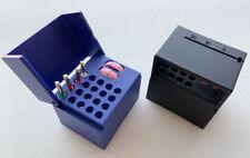 2x Dental Files Counter Endo Block Measuring Count Memo File Organizer Dispenser