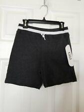 Cali Supply Co. Boys Casual Shorts Elastic Waist Drawstring Gray Size L