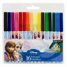 Disney Frozen Coloured Felt Pens Great for Gifts Presents or Arts and Crafts UK