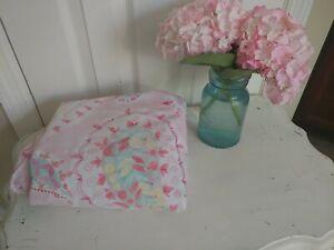 Pottery Barn Kids Organic Pink Paisley Twin Duvet Cover