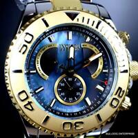 Invicta Reserve Pro Diver Swiss Mvt Black MOP Two Tone Steel 47mm New Watch