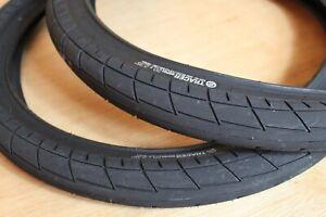 Tracer BMX Tyres - Pair 20 x 2.35 - Black