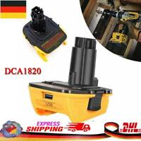 DCA1820 20V MAX auf 18V Akku Adapter Konverter Für Dewalt Li-Ion AKKU