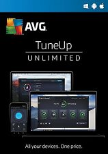 AVG PC TUNEUP 2017 - For UNLIMITED number of devices - DOWNLOAD ONLY