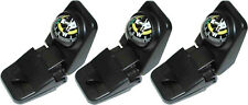 3 Car Dash Mount Liquid Filled Compass W/ Pen Paper Holder NEW
