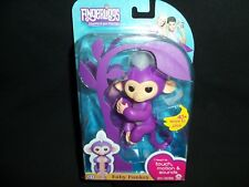 Fingerlings Baby Monkey Pet Purple Mia WowWee Electronic Toy Touch Motion Sound