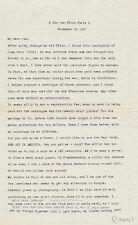 Man RAY  Lettre signée « Man » à son cher Jim. Gertrude STEIN / Juan GRIS. 1957