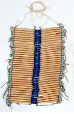 ca1920 Native American Sioux Bone Hairpipe Breastplate In Excellent Condition
