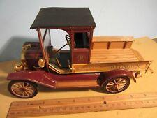 Franklin Mint 1913 FORD MODEL T Lumber PICKUP TRUCK w/Logs Limited EDITION 2500