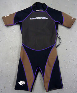 Maui and Son Kids 2mm Shorty Scuba Diving Wetsuit (USED) 14
