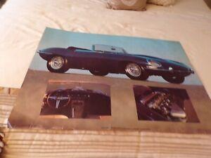 VTG 1984 Jaguar Poster