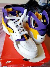 DEADSTOCK Nike Air Flight Huarache Lakers Kobe Bryant PE Authentic