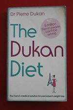 THE DUKAN DIET by Pierre Dukan - Permanent Weight Loss (Paperback, 2010)