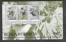 Koala Research Ms from Australia 1987