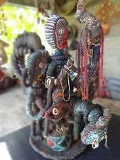 Vintage/Antique Beaded African Sculpture Animals, People/Adults,Children Donkey