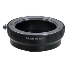 Fotodiox Adapter Olympus Digital Zuiko OM 4/3 (OM4/3) Lens to Micro Four Thirds