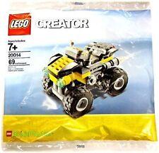 LEGO CREATOR 20014 Mini Quad Brickmaster Polybag NUEVO EMBALAJE ORIGINAL MISB