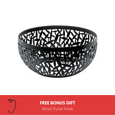 ALESSI | New Cactus! Bowl in Black 21cm MSA04/21 B WITH BONUS GIFT