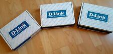 Trois D-Link Gigabit Ethernet Module DES-332T/DES-132F/DES-332T
