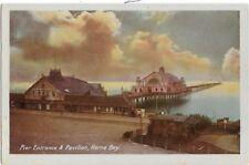 PIERS : HERNE BAY-Pier Entrance  & Pavilion- WOOLSTONE BROS