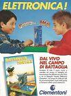 X0379 Clementoni - Battaglia Navale - Pubblicità del 1993 - Vintage advertising