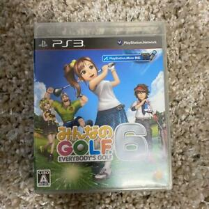 PS3 everyone of GOLF 6 30914 Japanese ver from Japan