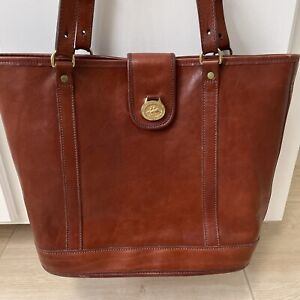 Brahmin Smooth Leather Tote