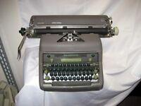 "Refurbished Smith Corona Manual Typewriter, 15"" carriage  w/warranty"