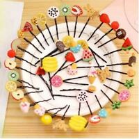 5PCS Candy Color Fruit Hairpin Vegetable Hair Clip Hair Accessories Jewelry