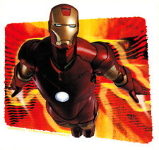 15873 Iron Man Flying Tony Stark Marvel Superhero Avengers Red Sticker / Decal