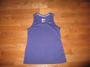 Womens Nike Dri-Fit Purple Sleeveless Tank Top Sz. L