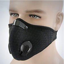 Outdoor Half Face Carbon Mask Cycling Dustproof Anti-Smog Protection Cover