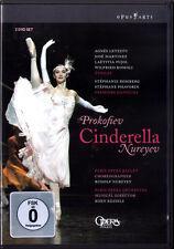 2.DVD PROKOFIEV CINDERELLA Paris Ballet NUREYEV Agnes Letestu Jose Martinez NEU